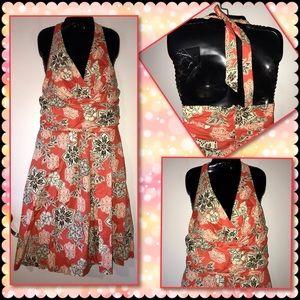 Karen Stevens Halter Dress ~